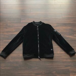 VELVET BLACK SAKS FIFTH AVENUE JACKET
